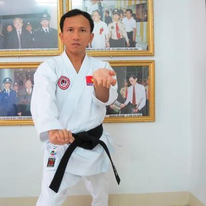 Dạy võ karate do cho người mới học buổi 7 võ đường Ngọc Hòa karate do